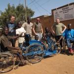 Réalisation de tricycles avec Handicap Solidaire