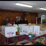 collecte des fournitures pour le Sahel